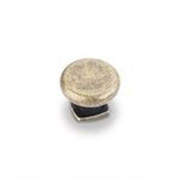 """Picture of  1-3/8"""" Forged Look Flat Bottom Knob"""