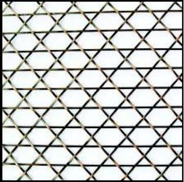 """Picture of 18""""X 48 Caned Wire Mesh Grille Pattern"""