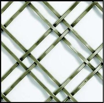 """Picture of 18""""X 48"""" Wire Mesh Grille"""