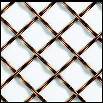 """Picture of 20""""X 48"""" Double Crimp Reeded Wire"""