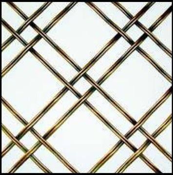 """Picture of 18""""X 48"""" Double Crimp Wire Mesh Grille"""