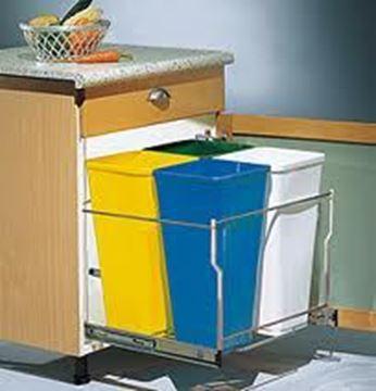 Picture of Soft-Close Double Waste Unit (L FJ165 SOFT)