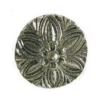 """Picture of 1 1/4"""" Bloom Decorative Flower Knob"""
